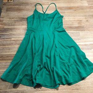 Tinkerbell 🧚♀️ Vibes Green Mini Dress